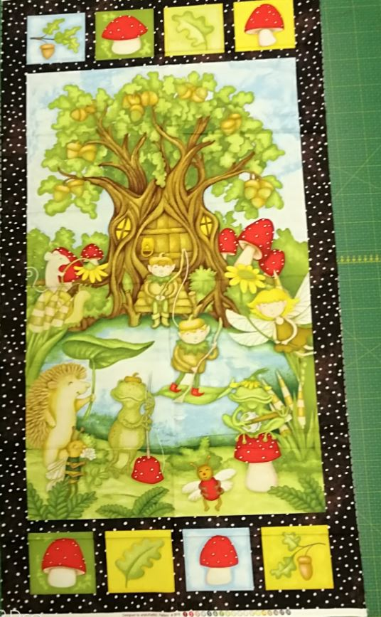 Panel Forest Friends 5916-33