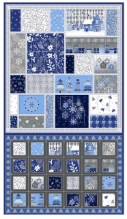 Advent Calendar Blue Holiday 11418